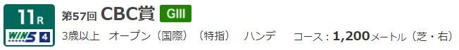 G3 CBC賞